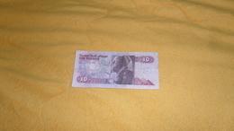 BILLET DE 10 POUNDS EGYPTE DATE ?. - Egypte