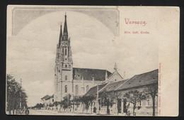 AUSTRO-HUNGARIAN (Now Serbia,Vojvodina) VRŠAC (hungarian-Versec) - Church - VINTAGE POSTCARD (APAT#36) - Cartes Postales