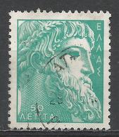 Greece 1959. Scott #634 (U) Zeus Of Istiaea * - Oblitérés