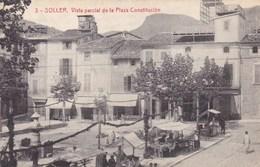 Espagne - Soller - Vista Parcial De La Plaza Constitucion - Espagne