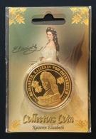 Austria, Souvenir Jeton, Empress Sisi, Vienna, Sealed - Tokens & Medals