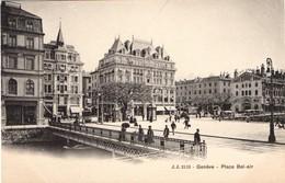 Genève.Place Bel-air. - GE Ginevra