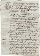 VP14.156 - Mont - Blanc - TANINGES - Acte An 13 - Manuscripts