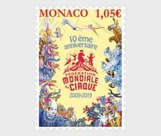 Monaco - Postfris / MNH - 10 Jaar Circus 2019 - Monaco