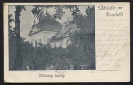 Austro-Hungarian Monarchy - (now Hungary) - Pécel, Kelecsényi-kastély -castle VINTAGE POSTCARD (APAT#139) - Cartes Postales