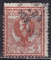 Regno D'Italia, 1901 - 2c Aquila Sabauda - Nr.69 Usato° - 1900-44 Vittorio Emanuele III