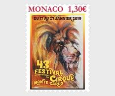 Monaco - Postfris / MNH - Monte Carlo Circus Festival 2019 - Monaco