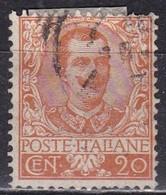 Regno D'Italia, 1901 - 20c Effige Di Vittorio Emanuele III - Nr.72 Usato° - 1900-44 Vittorio Emanuele III