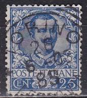 Regno D'Italia, 1901 - 25c Effige Di Vittorio Emanuele III - Nr.73 Usato° - 1900-44 Vittorio Emanuele III
