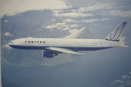 Avion / Airplane / United Airlines / Boeing B777-200 / Registered As N775UA / Airline Issue - 1946-....: Ere Moderne