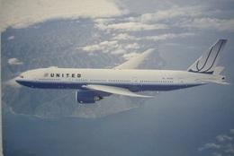 Avion / Airplane / United Airlines / Boeing B777-200 / Registered As N775UA / Airline Issue - 1946-....: Modern Era