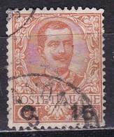 Regno D'Italia, 1905 - 15c Su 20c Effige Di Vittorio Emanuele III - Nr.79 Usato° - Usati