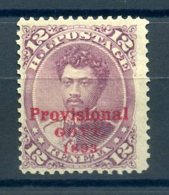 HAWAI 1893 N° 52 Neuf (trace De Charnière Forte) - Hawaï