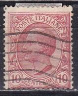 Regno D'Italia, 1906 - 10c Effige Di Vittorio Emanuele III - Nr.82 Usato° - Usati