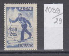 29K1039 / SPORT  Skiing Ski Sci , Finland Finlande Finnland Finlandia  ** MNH - Ski