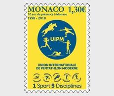 Monaco - Postfris / MNH - 20 Jaar UIPM 2018 - Monaco