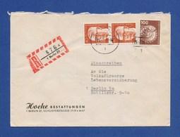 BERLIN R-Brief, Einschreiben MiF Braunkohlenförderbagger, Heinemann 1977 - Briefe U. Dokumente