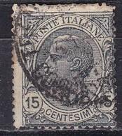 Regno D'Italia, 1919 - 15c Effige Di Vittorio Emanuele III - Nr.109 Usato° - 1900-44 Vittorio Emanuele III