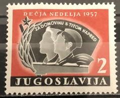 Yugoslavia, 1957, Mi: ZZ 19 (MNH) - Nuovi