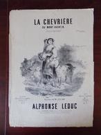 """Partition """" La Chevrière Du Mont Aventin """" - Leduc - Chanson Tyrolienne - Partitions Musicales Anciennes"""