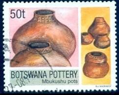 Pottery, Botswana Stamp SC#735 Used - Botswana (1966-...)