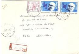 Belgique 1978 - Lettre Recommandée De ST GERARD -  Province De Namur - Cob 1584/1887 X 2 - Belgique