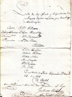 CHILE 1818 VALPARAISO Orden  CAPITANIA DEL PUERTO Para FRAGATA INGLESA Para Viaje A RIO DE JANEIRO - MONTEVIDEO Transit - Documentos Históricos