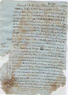 VP14.158 - Préfecture Du LEMAN - Acte An 13 Concernant La Chartreuse De Mélan à TANINGES - Manuscripts