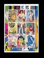NIGER ¤ ALGERIA IN WORLD STAMPS ¤ 1998 1999 SHEET BLOCK BLOC PHILEXAFRIQUE ART PAINTINGS MATISSE MNH - Niger (1960-...)
