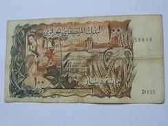 100 Dinars 1970 - Banque Centrale D'Algérie **** EN ACHAT IMMEDIAT **** - Algeria