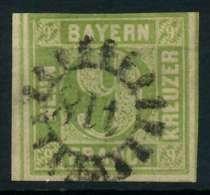 BAYERN QUADRATE Nr 5cIII GMR 418 Zentrisch Gestempelt X882532 - Bavière