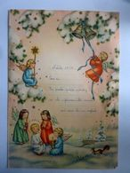 """Lettera Manoscritta """"NATALE 1957"""" - Manoscritti"""