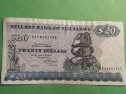 20 Dollars 1983 - Zimbabwe