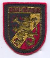BELGIE BELGIQUE -  Blazon, Coat Of Arms, Patch, D 7 X 5.5 Cm - Ecussons Tissu