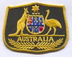 AUSTRALIA -  Blazon, Coat Of Arms, Patch, D 9 X 7 Cm - Ecussons Tissu