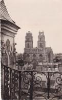 45. ORLEANS. RARETE. LA CATHÉDRALE SAINTE CROIX VUE DU BEFFROI. ANNEE 1956 + TEXTE - Orleans