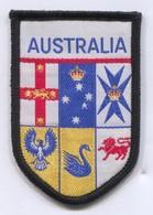 AUSTRALIA -  Blazon, Coat Of Arms, Patch, D 7.5 X 5 Cm - Ecussons Tissu