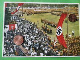GERMANIA  ALLEMAGNE  GERMANY  Foto Propaganda Adunata Dresda 1932 NAZISMO PROPAGANDA - Oorlog 1939-45