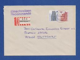 Bund R-Brief Einschreiben MiF Freiburger Münster, Semperoper Dresden - BIELEFELD - BRD