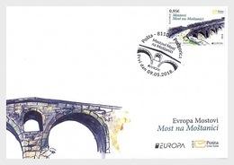 Montenegro - Postfris / MNH - FDC Europa, Bruggen 2018 - Montenegro