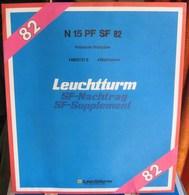 Leuchtturm - JEU POLYNESIE FRANCAISE 1982 SF (Avec Pochettes) - Vordruckblätter