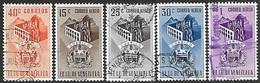 Venezuela   1953   Sc#566, C466-8, C471   5 Diff  Guarico   Used  2016 Scott Value $12.65 - Venezuela