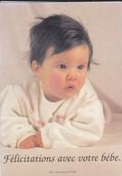 Bébé----Félicitations Avec Votre Bébé--( Dos Vierge )--voir 2 Scans - Neonati