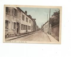 78 FRENEUSE. La Grande Rue - Freneuse