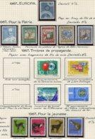10683 SUISSE  Collection Vendue Par Page */ ° 1967  TB/TTB - Suisse