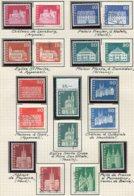 10684 SUISSE  Collection Vendue Par Page */ °n°815/23  Edifices  1968  TB/TTB - Suisse