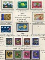 10685 SUISSE  Collection Vendue Par Page */ °  1968  TB/TTB - Suisse