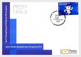 Montenegro - Postfris / MNH - FDC Olympische Spelen 2018 - Montenegro