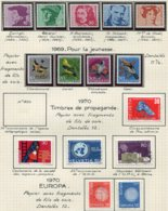 10687 SUISSE  Collection Vendue Par Page */ °  1969-70  TB/TTB - Suisse