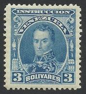 Venezuela, Revenue, 3 B. 1904, MH. - Venezuela